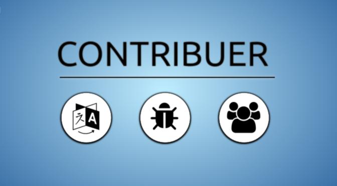 Contribuer au développement du logiciel libre