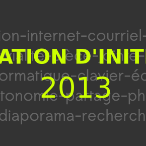 Formation Initiation à l'informatique 2013