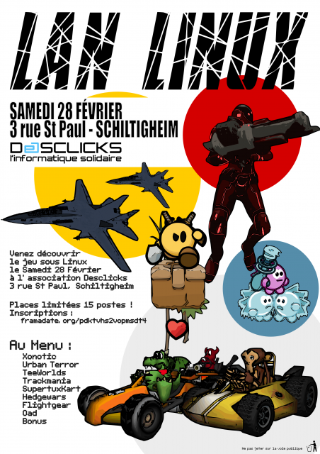 Affiche Lan 28 Février
