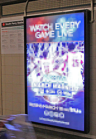 Écran Vidéo : File source: http://commons.wikimedia.org/wiki/File:Subway_Station_Digital_Advertising_Screens_(13250855595).jpg