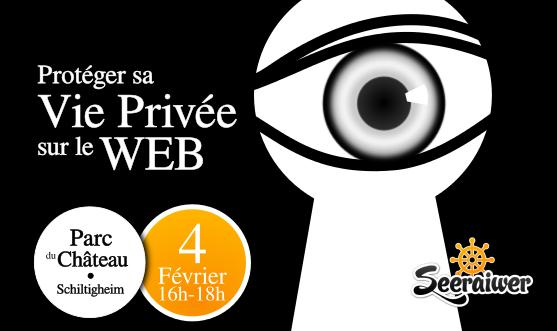 Protéger sa vie Privée<br/>sur le Web
