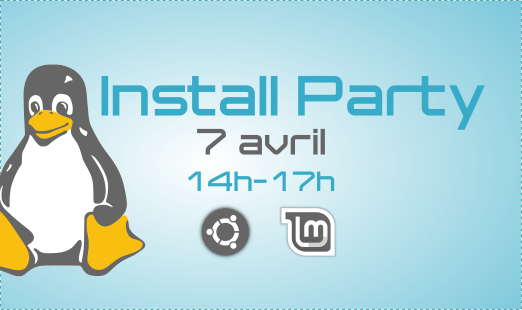 Install Party <br/> 7 avril 14h-17h