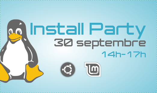 Install Party <br/> 30 septembre 14h-17h
