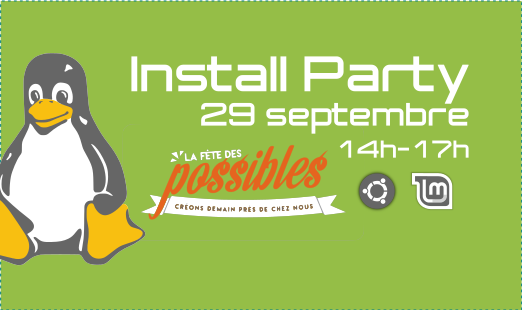 Install Party 29 septembre
