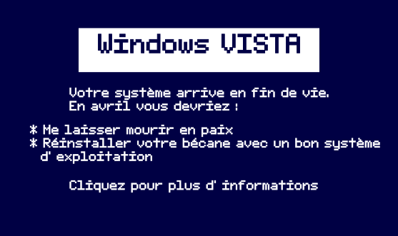 VISTA – Fin de vie 11 avril 2017